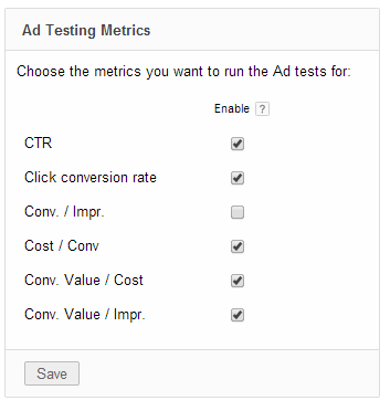 New ad testing metrics