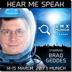 Brad Geddes on the SMX in Munich