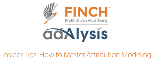 """Finch & Adalysis on the webinar """"How to Master Attribution Modeling"""""""