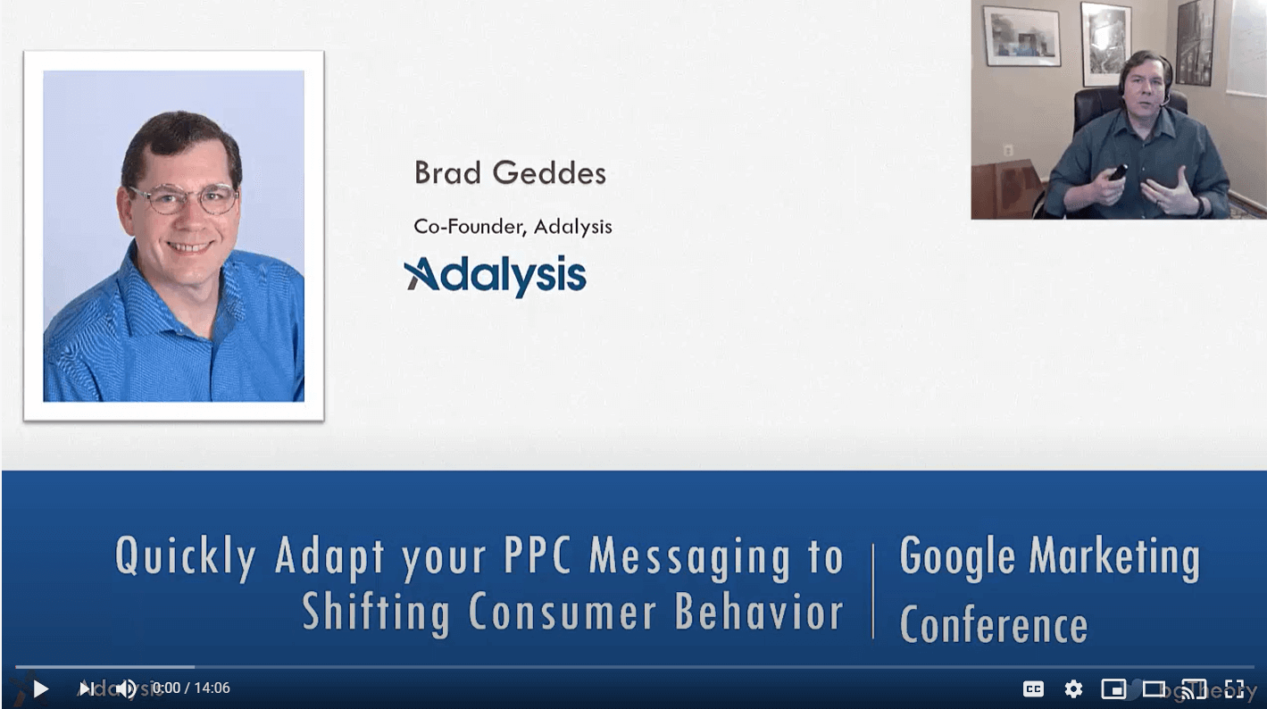 Quickly Adapt Your PPC Messages
